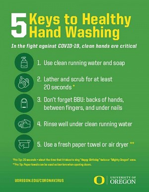 5 Keys to Healthy Hand Washing